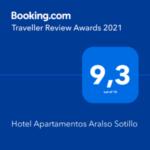 Hotel Apartamentos Aralso Sotillo - Booking Awards 2021