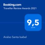 Aralso Santa Isabel - Booking Awards 2021